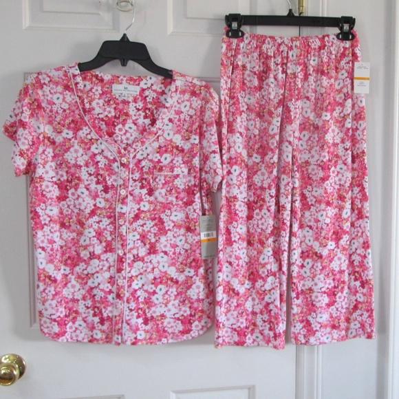 Karen Neuburger Cotton Polyester Pajamas Set Small 5d4f1a184